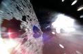 Un robot japonais se promène sur un astéroïde