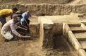 Un trône du pharaon Ramsès II découvert au Caire