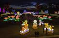 Un festival de lanternes géantes illumine Thoiry et ses animaux
