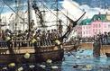Tea Party à Boston le 16 décembre 1773