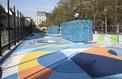 Aux Halles, un nouveau playground créé par un street artist