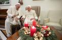 Fatigué, Benoît XVI a reçu son successeur