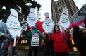 Les enseignants en grève à Los Angeles