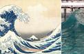 Reproduite par hasard en laboratoire, la vague d'Hokusai était bien scélérate