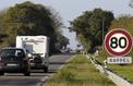 Entre Dijon et Beaune, une départementale aux 42changements de vitesse