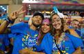 Neymar au carnaval de Rio avant de rejoindre Paris