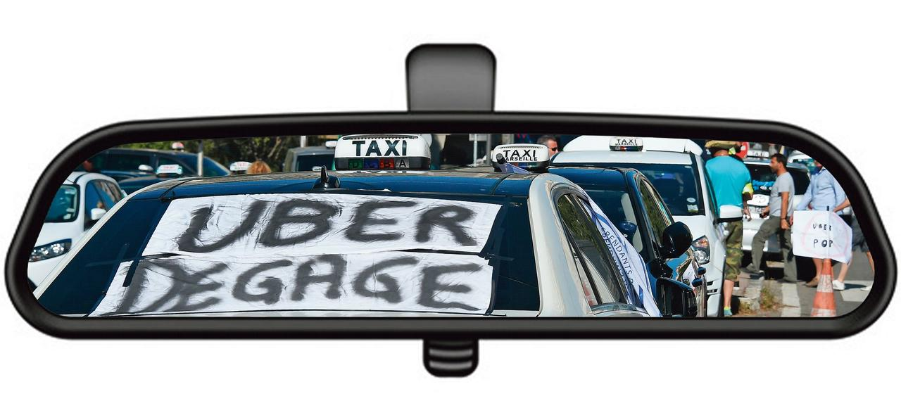 l 39 tat impuissant teindre la guerre entre les taxis et uber. Black Bedroom Furniture Sets. Home Design Ideas