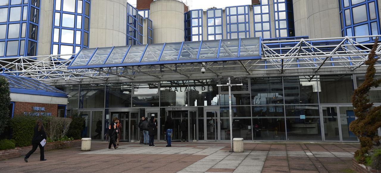 Le tribunal de grande instance de Bobigny.