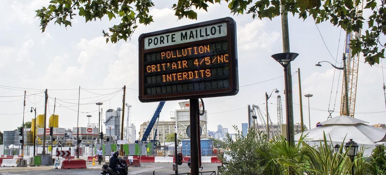 Загрязнение воздуха приводит к ежегодной гибели 67 тыс. человек во Франции