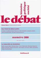 <i>Le Débat</i>, Éditions Gallimard, 208 p., 21€.