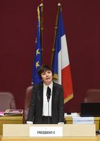 Carole Delga, présidente PS de la région Occitanie