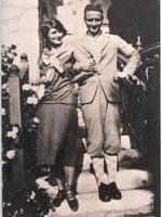 Zelda et Scott Fitzgerald à la villa Saint-Louis.