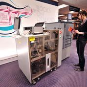 Une machine pour imprimer des livres à la carte
