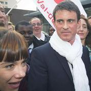 Valls dans le Val-de-Marne pour tenter d'inverser la donne