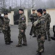 Lutte antiterroriste: l'armée se renforce sur le front intérieur