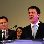 À Tours, Manuel Valls accuse Nicolas Sarkozy de «courir derrière le Front national»