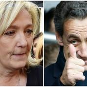 Quand Nicolas Sarkozy raille la voix de «soudard» de Marine Le Pen