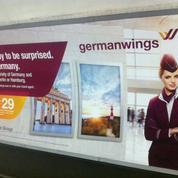 Crash de l'A320: Germanwings retire à la hâte ses publicités gênantes à Londres