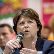 Martine Aubry veut peser sur l'après départementales
