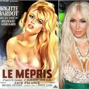 Jean-Luc Godard veut réadapter Le Mépris avec Kim Kardashian