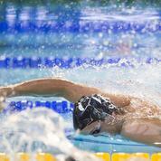 Sous l'eau, qu'arrivent à voir les nageurs en pleine course ?