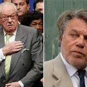 Chambres à gaz : Gilbert Collard et Jean-Marie Le Pen s'écharpent sur Twitter