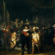 Le 6 avril 1990, La Ronde de nuit de Rembrandt est aspergée d'acide