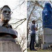 Edward Snowden, indésirable sur le sol américain même en statue de plâtre