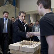 Dans l'Oise, Sarkozy célèbre la victoire du «changement»
