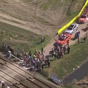 La SNCF porte plainte après la traversée d'un passage à niveau lors de Paris-Roubaix
