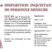 Le cri du coeur du père de Lucas Tronche, disparu depuis un mois