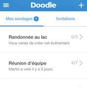 Avec sa nouvelle application, Doodle poursuit son développement sur mobile