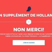 Hollande sur Canal + : «Une opération de com' vaine et vide» pour l'UMP
