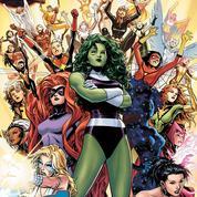 Les super-héroïnes prennent d'assaut la bande dessinée