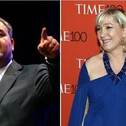 Pour Xavier Bertrand, Marine Le Pen «rêve de devenir une people»