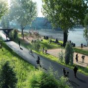 Vers la piétonisation d'une partie des berges de la rive droite, à Paris