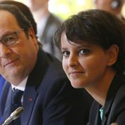 François Hollande vole au secours de Najat Vallaud-Belkacem