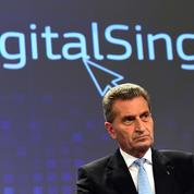 Les pistes de Bruxelles pour «européaniser le numérique»