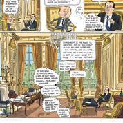 BD : Mathieu Sapin s'ennuie à l'Élysée... Nous aussi