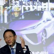Toyota vend moins de voitures mais fait plus de profits