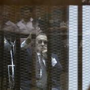 Hosni Moubarak condamné à trois ans de prison