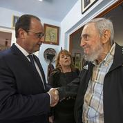 François Hollande-Fidel Castro, la rencontre