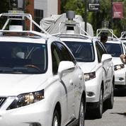 Les voitures autonomes n'échappent pas aux accidents