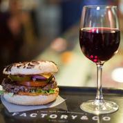 Factory & Co Bourse : bagels et burgers