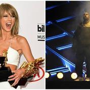 Billboard Awards : Taylor Swift multiprimée, Kanye West hué