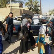 Le tragique exode deshabitants de Ramadi au Kurdistan irakien