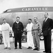 Le 27 mai 1955, la Caravelle effectue son premier vol
