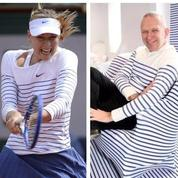 Maria Sharapova fan de Jean-Paul Gaultier et de la marinière
