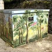 Le street art redonne vie aux transformateurs électriques