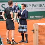 Pour interviewer Andy Murray, Fabrice Santoro enfile un kilt